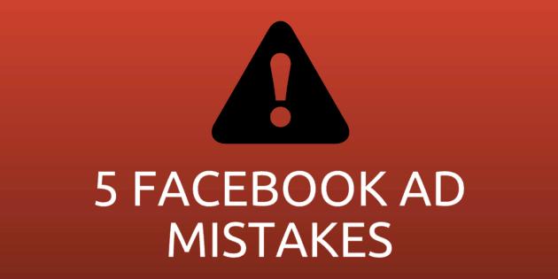 kesalahan beriklan di facebook