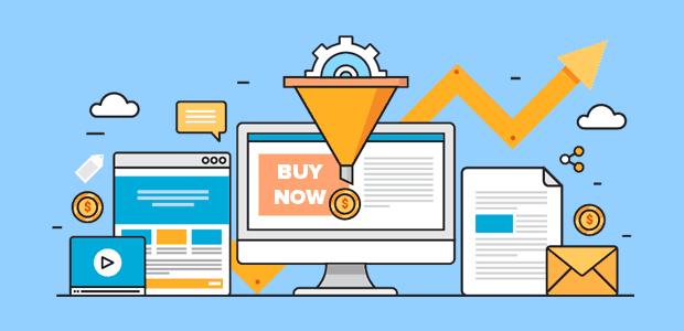 cara membuat sales page