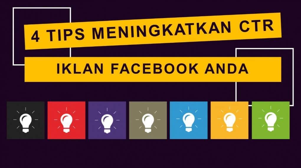 cara meningkatkan CTR iklan facebook